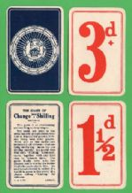 Collectible cards game. Change for a shilling